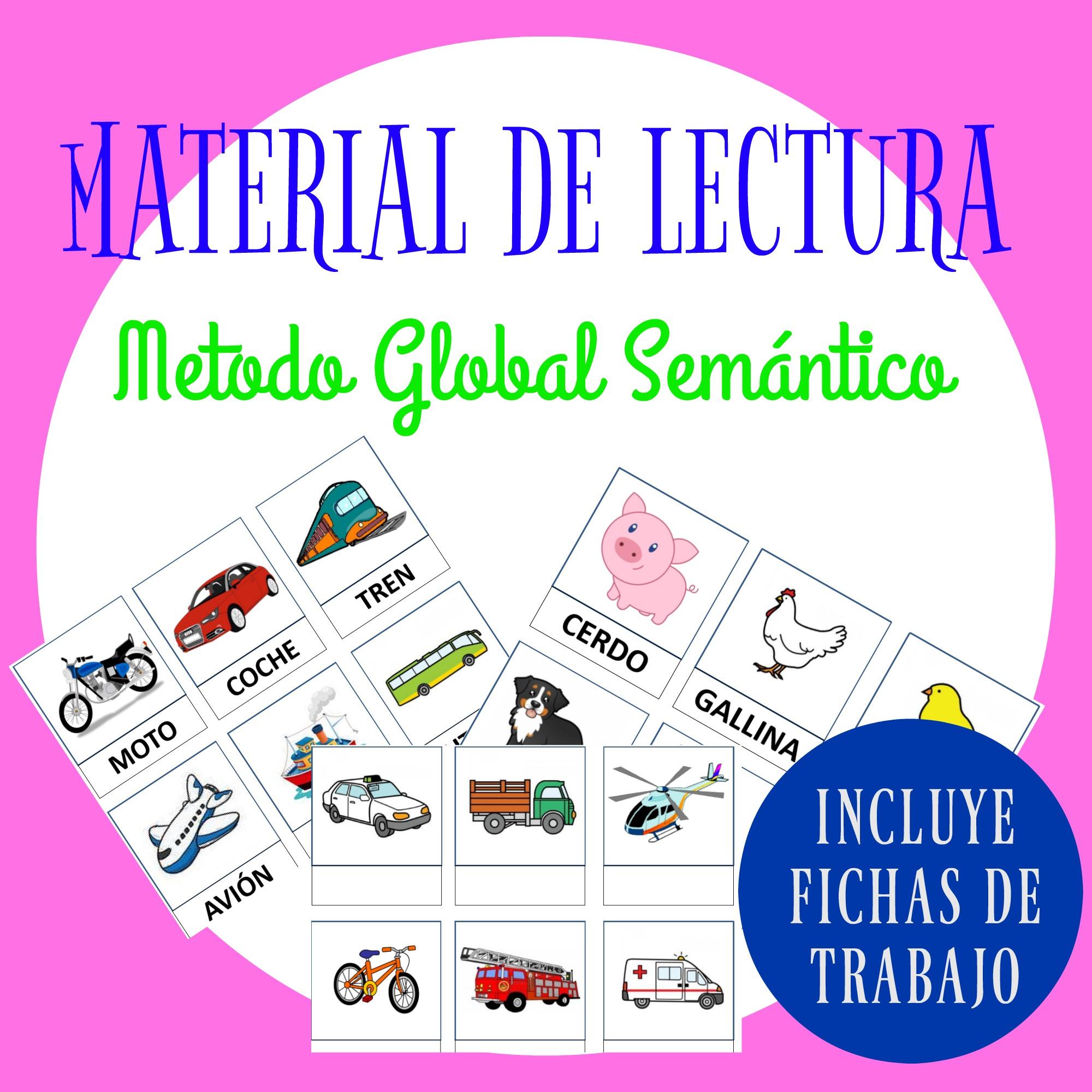 MATERIAL DE LECTURA MÉTODO GLOBAL SEMÁNTICO - Infosal