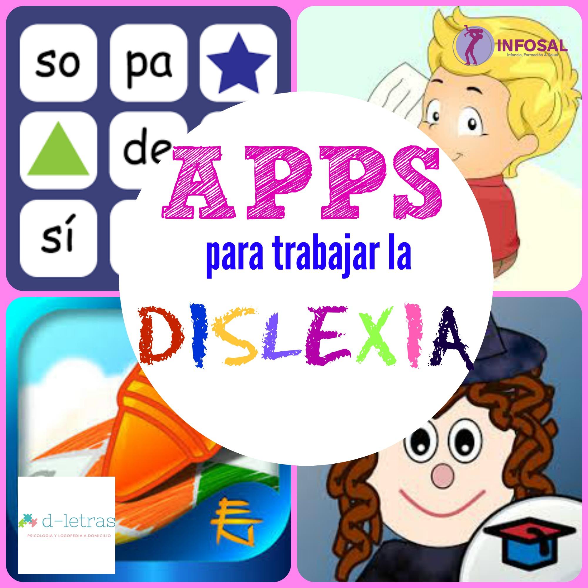 Resultado de imagen de apps para trabajar la dislexia