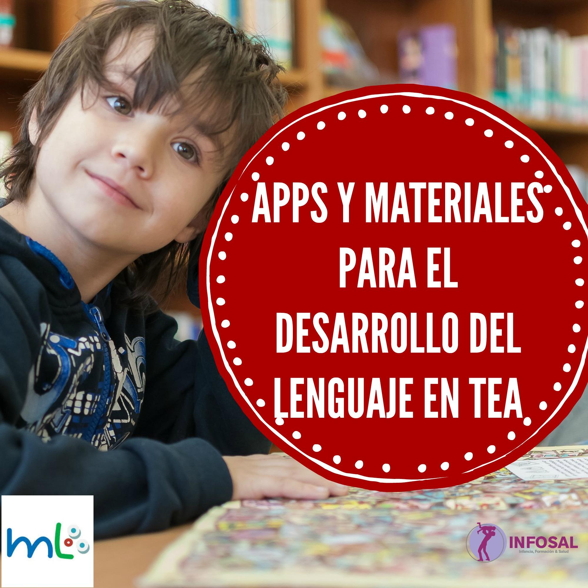 Resultado de imagen de APPS y Materiales para el desarrollo del lenguaje en TEA